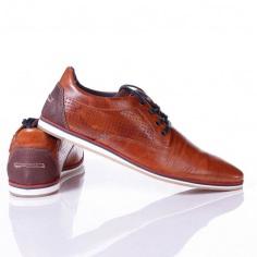 cf3816bf4e Zign kívül bőr férfi cipő (ZI112A0DX) Farbe barna Grösse 44